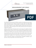 Roles of PMUs in Wide Area Monitoring and Control