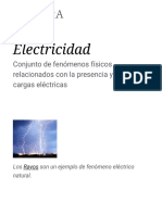 Electricidad - Wikipedia, La Enciclopedia Libre