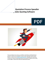 Make Your Quotation Process Speedier Using Sales Quoting Software