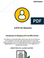 KYC for Directors