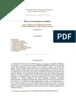 Humanismo Solidario.- Documento Catolico