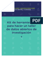 Kit Taller de Datos Abiertos