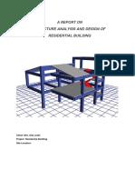 Fina Gita Joshi Structure Analysis Report