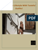 Enrich Your Lifestyle With Tasteful Outfits!.pdf