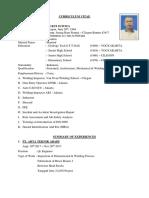 Curriculum Vita Mukti Suwita