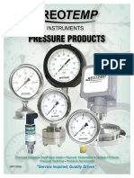 Catalogo de Presion Reotemp