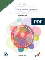 Gerenciamento Do Risco Corporativo ( Ler )