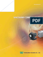 Woosung_catalogue Vaccum Pumps