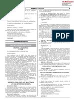 Decreto Legislativo que modifica la Ley N° 27269 Ley de Firmas y Certificados Digitales y el Decreto Ley N° 25632 Ley Marco de Comprobantes de Pago