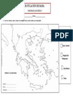 mapa de grecia rotular