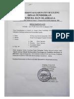 7. Surat Rekomendasidari Dinas Pendidikan