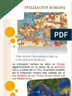 ppt civilización romana 3°