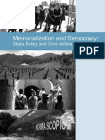 Memorialization and Democracy