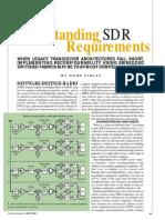 Under SDR Reqs -1