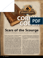 Corvis Codex - Scars of the Scourge