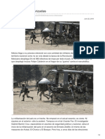 CAMACHO, Zósimo. Elecciones Militarizadas [Contralínea 22-6-18]