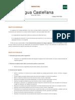 Guía Lengua Castellana Curso de Acceso 2017-2018