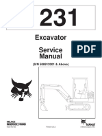 BOBCAT 231 MINI EXCAVATOR Service Repair Manual (SN 508912001 & Above).pdf