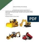 Clasificación de La Maquinaria en Función Del Tipo de Operación
