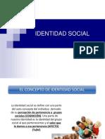Identidad Social Discriminacion y Prejuicios