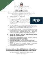 GUIA NO 6 Solicitud Exencion ITBIS