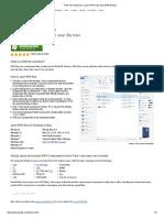 Open RAR Files Now With WinZip