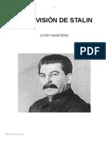 Martens Ludo Otra Vision de Stalin