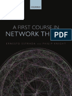 First Course Network Theory