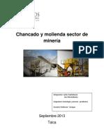 Chancado y Molienda en El Sector Minero