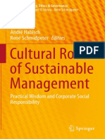 [CSR, Sustainability, Ethics &amp_ Governance] André Habisch, René Schmidpeter (eds.) - Cultural Roots of Sustainable Management_ Practical Wisdom and Corporate Social Responsibility (2016, Springer International Publishing)
