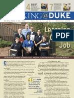 Working@Duke - October, 2010