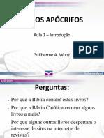 Livros Apócrifos - IBCU