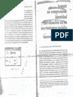Melucci a. - Asumir Un Compromiso. Identidad y Movilización de Los Movimientos Sociales
