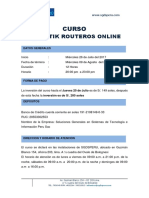 Mikrotik Routeros Online R_2