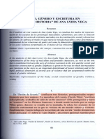 8. Cuerpo g Nero y Estructura en Pasion de Historia de Ana Lydia Vega Por Andrea Ostrov