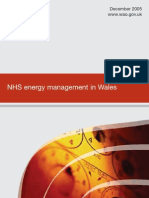NHS Energy Management Wales