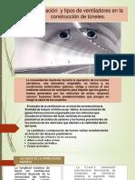 Ventilación  y tipos de ventiladores en la.pptx