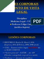 Lesões Corporais Do Ponto de Vista Legal