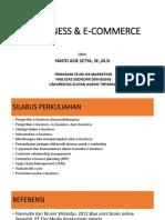 e Business & e Commerce