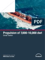 Propulsion of 7,000-10,000 Dwt Small Tanker 20.05.2013