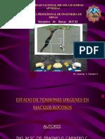 15 Tensiones Virgenes en Macizos