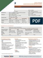 Wavion WBSn Datasheet-ES