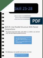Skill 25-28