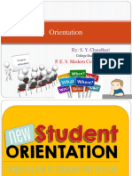 Orientation for Freshers (PCI Syllabus SPPU)