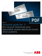 ABB EU Council Directives and Adjustable Speed Electrical Power Drive Systems