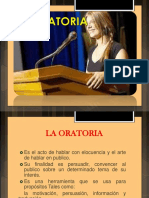 4 La Oratoria