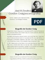 Actividad III (Teatro) Gordon Craig