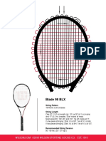 2011 US Tennis String Instructions