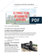 23 Things to Do in Edmonton With Kids