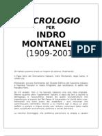 Necrologio per Indro Montanelli
